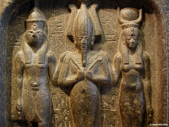 Horus, Osiris e Isis